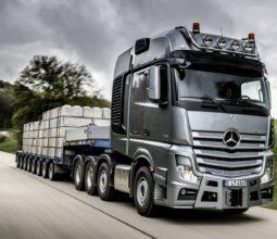 Mercedes-Benz; Actros; 4163; SLT; Schwerlast; heavy haulage; Euro VI; Driving Experience; Münsingen; 2014